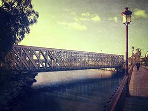 Puente sobre el Guadalhorce